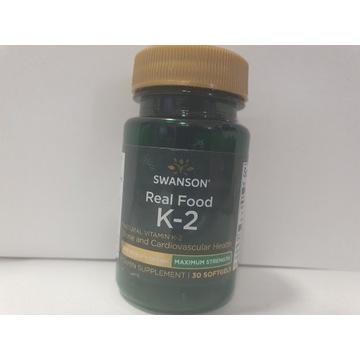 Swanson Witamina K2 MK7 200 mcg 30 kapsułek