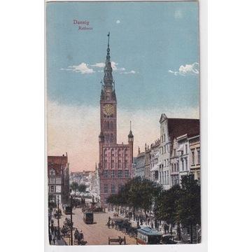 Danzig - Gdańsk - Rathaus