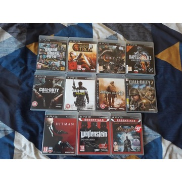 Zestaw gier ps3 PlayStation 3