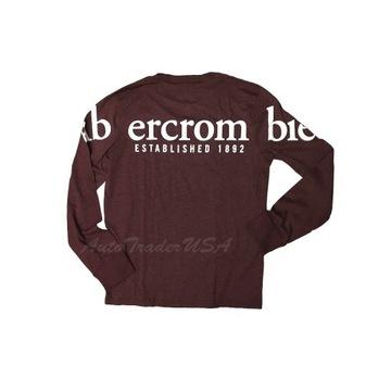 Abercrombie & Fitch org longsleeve męski rozm. L