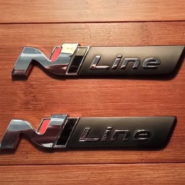 HYUNDAI  EMBLEMAT / ZNACZEK N-LINE N LINE NLINE