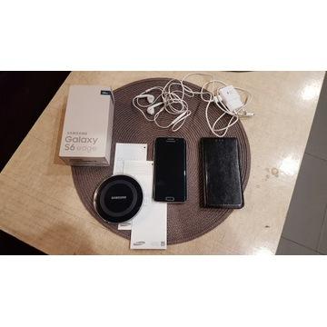 Samsung Galaxy S6 EDGE 64GB Sapphire Black zestaw