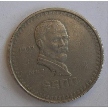 500 pesos Meksyk 1987