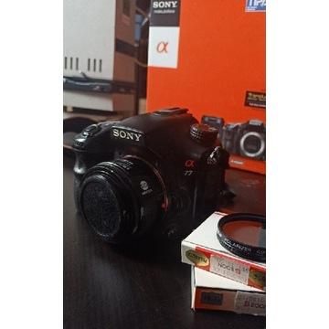 Sony a77 + minolta 28mm f2.8 + filtry