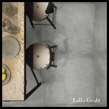 Płyty tarasowe beton 40x80 gres 2 cm Lukka grafit