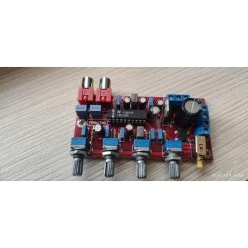 Przedwzmacniacz audio stereo LM1036N (BTE-176)