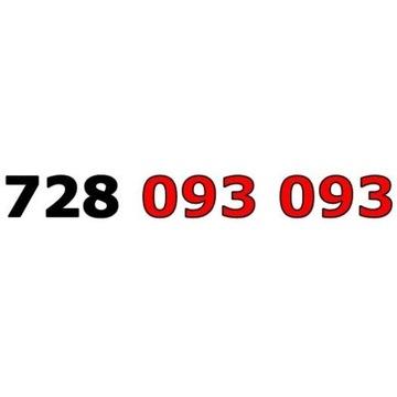 728 093 093 ŁATWY ZŁOTY NUMER STARTER