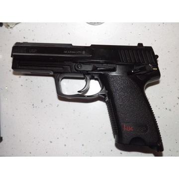 Wiatrówka pistolet H&K USP 4,5 mm CO2