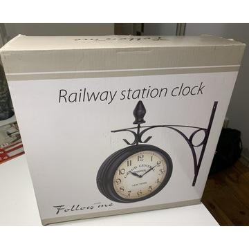 Zegar ścienny railway station