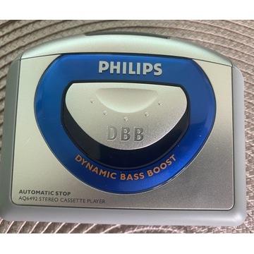 Walkman Philips - przenośny odtwarzacz kaset audio