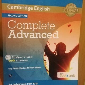 Cambridge English Complete Advanced SECOND EDITION