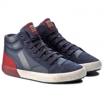Geox Alonisso J742CA sneakersy trzewiki skóra 29