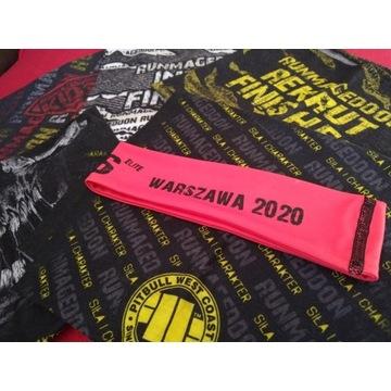 Bandama, komin Runmageddon x5 + opaska elite hc