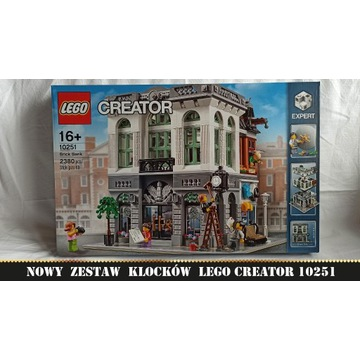 LEGO Creator Expert 10251 Bank NOWE