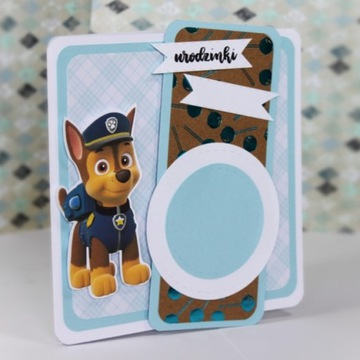 Kartka okolicznościowa urodzinowa Psi Patrol