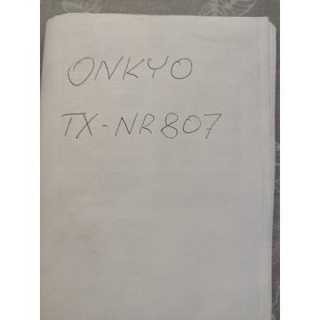 ONKYO TX-NR807 instrukcja PL