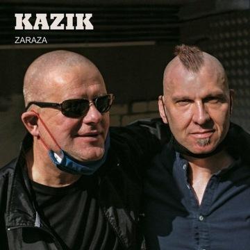 Kazik Zaraza CD z autografami Kult