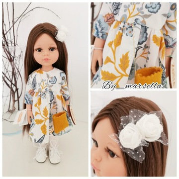 Ubranka zestaw 3 częściowy PAOLA REINA lalka