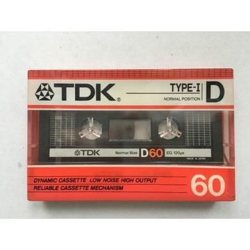 Kaseta magnetofonowa TDK D60