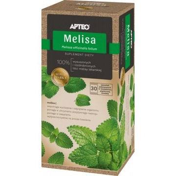 Melisa APTEO NATURA, 1,5 g x 30 saszetek