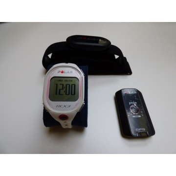 Komputer treningowy Polar RCX3 GPS G5 H3 Data Link