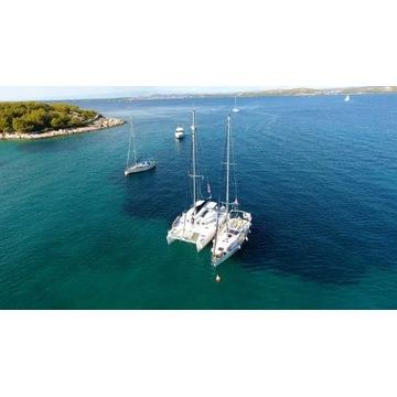 Rejs katamaranem w Chorwacji - Lato , wakacje 2021