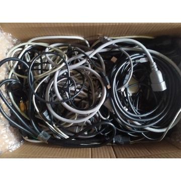 Mix zestaw przewodów kabli 7 kg