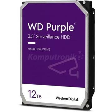 """Dysk twardy WD Purple 12TB 3,5"""" WD121PURZ"""