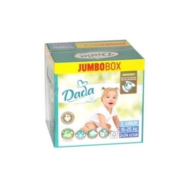 PIELUCHY JEDNORAZOWE DADA 5 JUMBOBOX 15-25kg 68szt