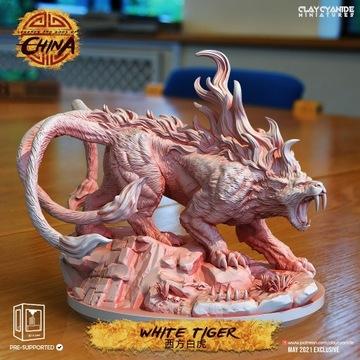 """Figurka Bai Hu """"Biały Tygrys"""""""