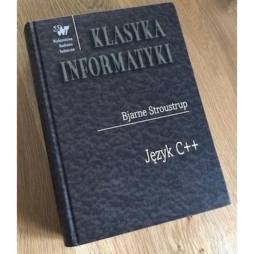 Język C++ Bjarne Stroustrup KLASYKA INFORMATYKI