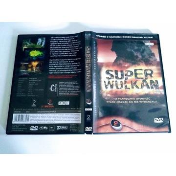 """SUPER WULKAN"" (BBC) - polski lektor  ( DVD )"