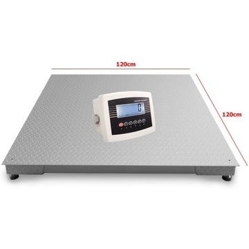 Waga Platformowa Paletowa 1,2x1,2 5T 3T 1,5t LCD