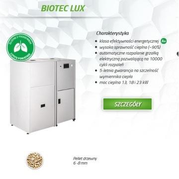 Kocioł Drewmet Biotec LUX 23 kw Pellet Dofinansowa