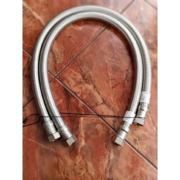 Wężyk elastyczny Gigant 100cm 3/4x3/4 w oplocie