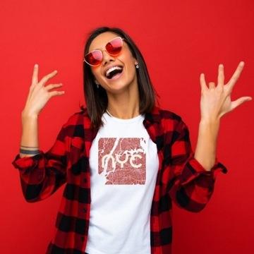 koszulka damska tshirt Nowy Jork New York USA