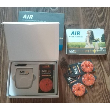 Aparat słuchowy -50% promo - MDHearingAid AIR