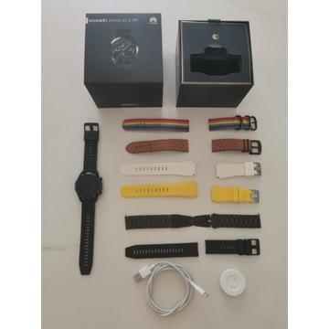 Huawei Watch GT2 używany, pełen komplet plus paski
