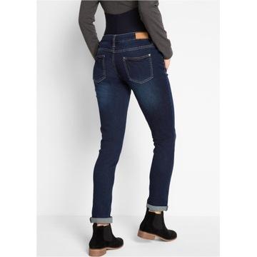 Ciążowe spodnie jeansowe r.52