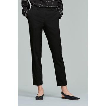 Next - spodnie czarne wąskie XXL