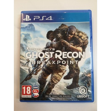 GHOST RECON BREAKPOINT PL PS4 PLAYSTATION 4