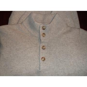 Sweter męski Valentino Jeans 80% wełna XXL