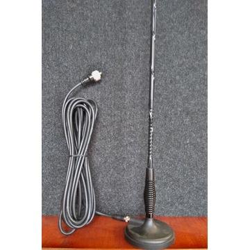 Antena CB Pirat 62 cm + kabel 5 m