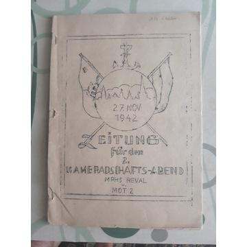 GAZETA KRIEGSMARINE 1942 REWAL  STETTIN -KOLBERG !