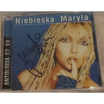 Płyta NIEBIESKA MARYLA z autografem