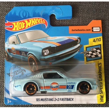 Hot Wheels FORD MUSTANG FASTBACK