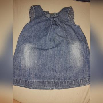 Jeansowa sukienka 74