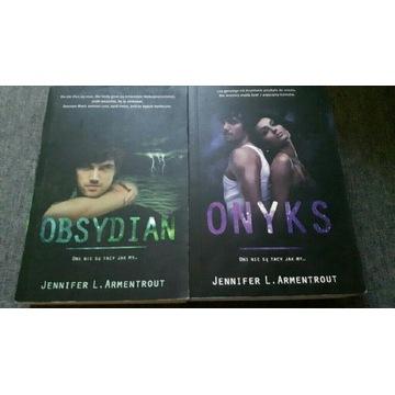 Seria Lux Jennifer l Armentrout Obsydian i Onyks