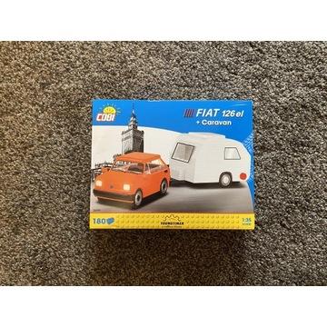 Cobi 24591 Fiat 126 el+caravan Maluch i Niewiadów