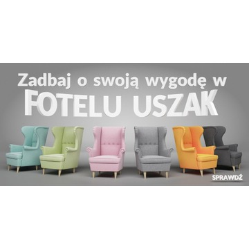 fotel USZAK styl skandynawski KOLORY !